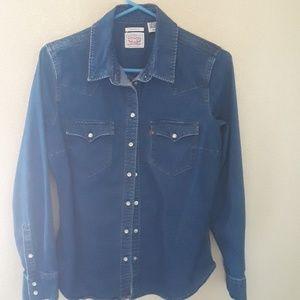 Levis blouse cowboy
